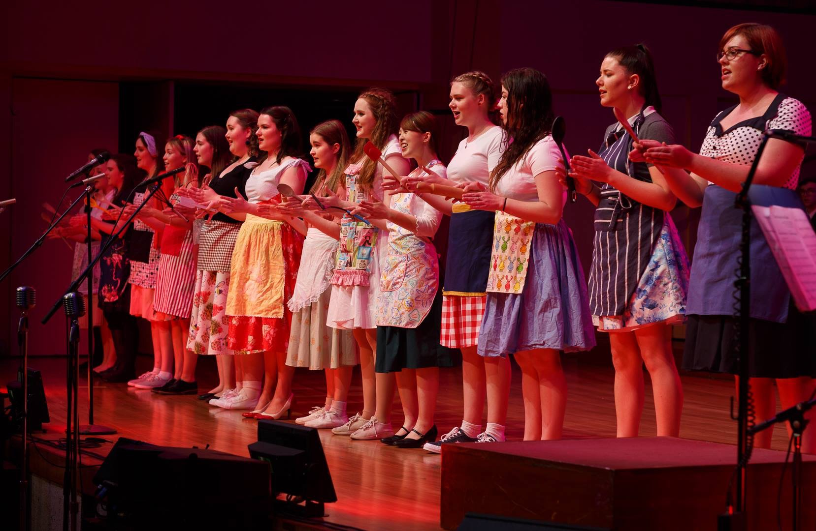 VoiceWorks sing What Baking Can Do from the musical Waitress